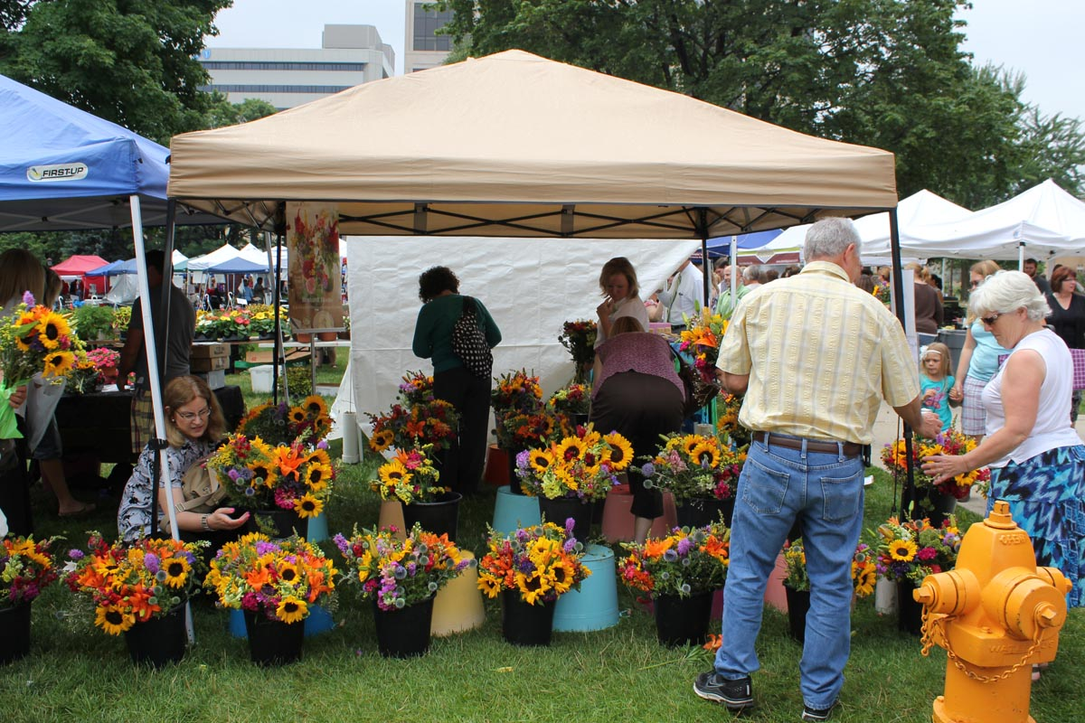 Farmer S Market At The Capitol July Lansing Downtown