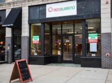 Red Burrito downtown Lansing