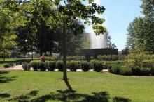 Music at the Fountain at Reutter Park